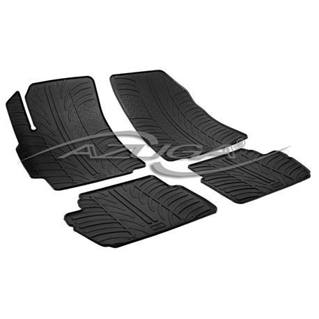Gummi-Fußmatten für Chevrolet Spark ab 2010