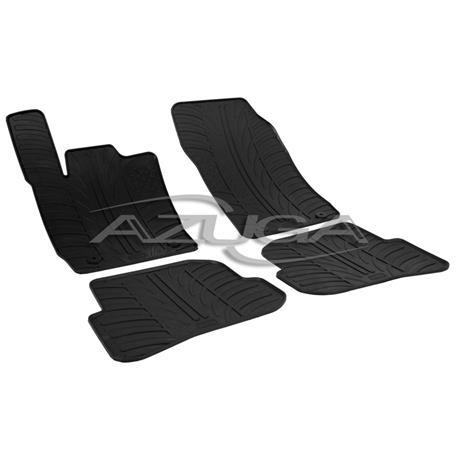 Gummi-Fußmatten für Audi A1 ab 2010/A1 Sportback ab 2011-10/2018