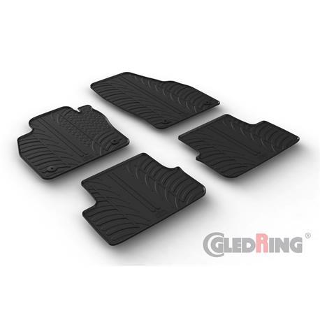 Gummi-Fußmatten für Audi A1 Sportback ab 11/2018 (Typ GB)