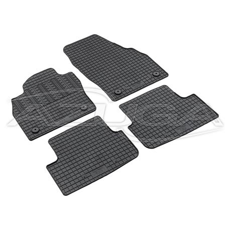 Gummi-Fußmatten für Audi A1 Sportback/VW Polo AW ab 10/2017