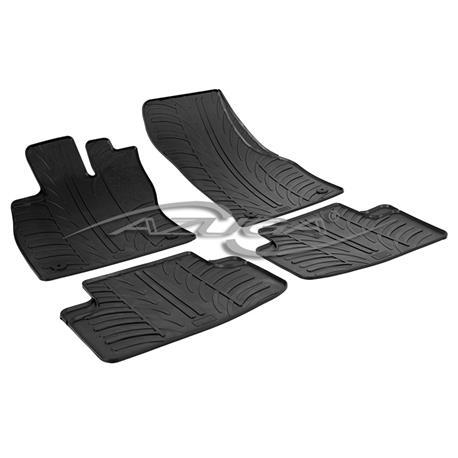 Gummi-Fußmatten für Audi A3 Stufenheck/Sportback ab 2013/VW Golf Sportsvan ab 2014