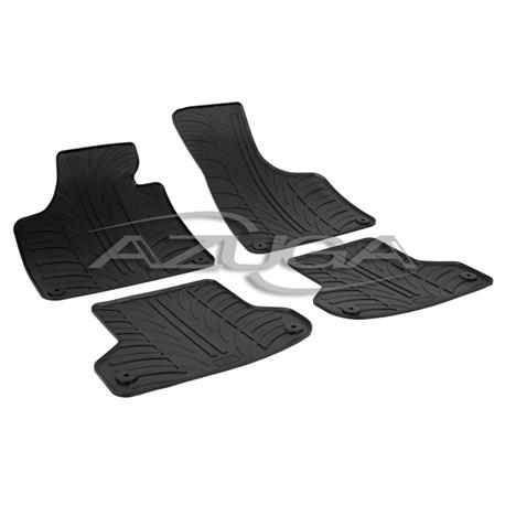 Gummi-Fußmatten für Audi A3 ab 2003/A3 Sportback ab 2004 (8P/8PA)