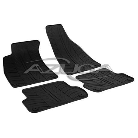 Gummi-Fußmatten für Audi A4 ab 2001 (8E/B6/B7)/Seat Exeo ab 2008