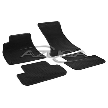 Gummi-Fußmatten für Audi A4 ab 2008 (Typ 8K/B8)/A5 Sportback ab 2009