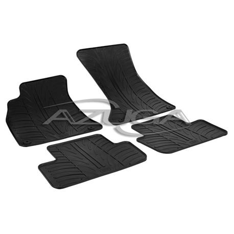 Gummi-Fußmatten für Audi A4 ab 2008 (8K/B8)/Audi A5 Sportback ab 2009