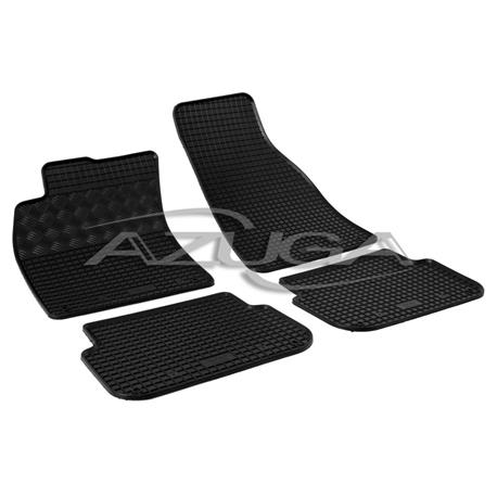 Gummi-Fußmatten für Audi A6 ab 4/2004 bis 2/2006 (Typ 4F)