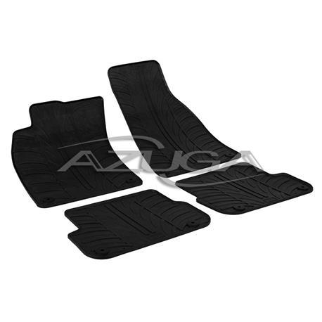 Gummi-Fußmatten für Audi A6 Limousine/Avant ab 3/2006