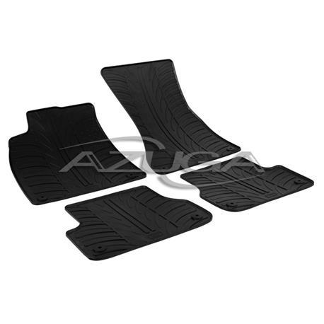 Gummi-Fußmatten für Audi A6 ab 2011 (4G)/Audi A7 Sportback ab 2010