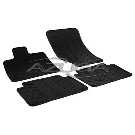Gummi-Fußmatten für Audi Q7 ab 2006-5/2015
