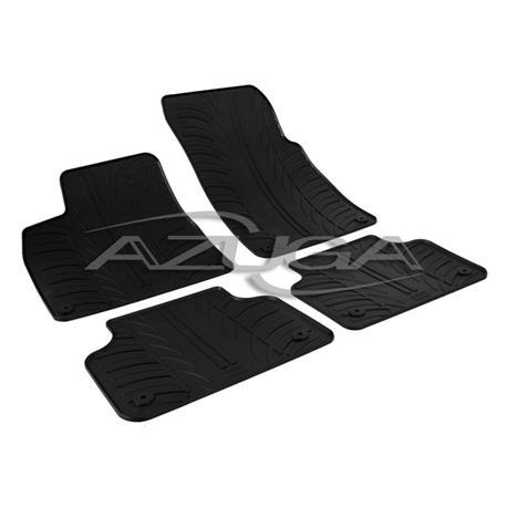 Gummi-Fußmatten für Audi Q7 ab 6/2015 (4M)