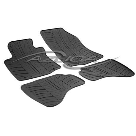 Gummi-Fußmatten für Citroen C1/Peugeot 107/Toyota Aygo ab 2005