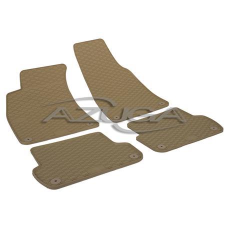 Gummi-Fußmatten für Audi A4 ab 2001-2008 (8E)/Seat Exeo ab 2009