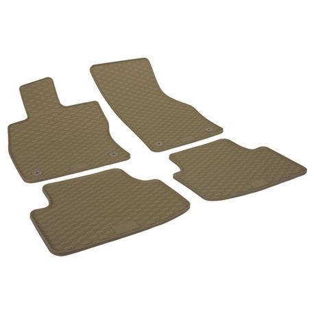 Gummi-Fußmatten für Skoda Octavia III ab 2013 (5E)/VW Passat (3G) ab 2014