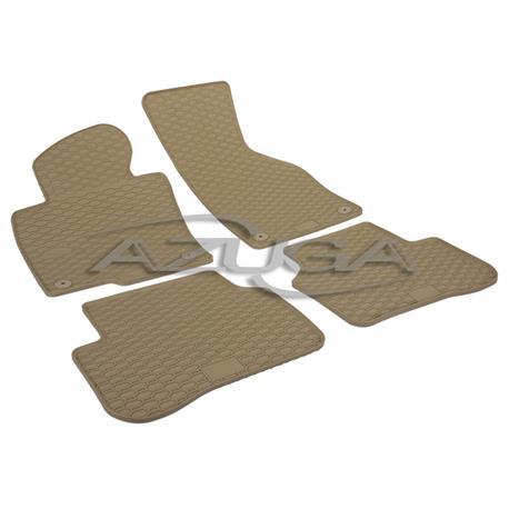 Gummi-Fußmatten für VW Passat/Passat Variant 3C ab 2005-10/2014 (beige)