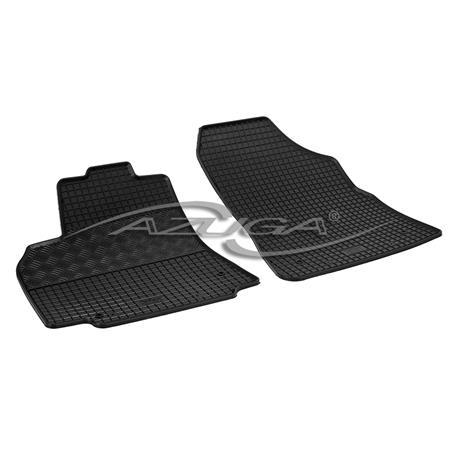 Gummi-Fußmatten für Citroen Berlingo II/Peugeot Partner Tepee ab 2008 - 2-teilig
