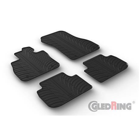 Gummi-Fußmatten für BMW 1er (F40) ab 9/2019