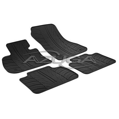 Gummi-Fußmatten für BMW 2er Active Tourer (F45) ab 2014