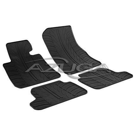Gummi-Fußmatten für BMW 2er Coupé (F22) ab 2014