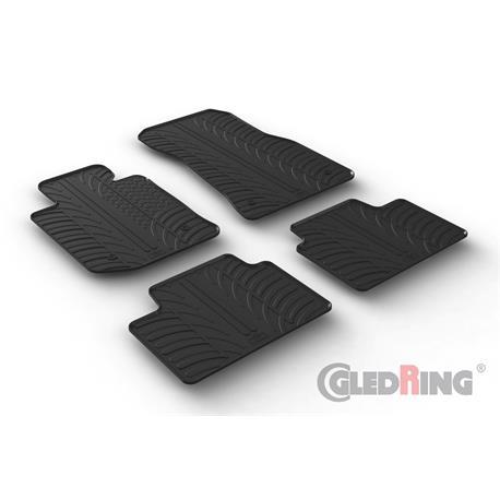 Gummi-Fußmatten für BMW 3er (G20/G21) ab 2019