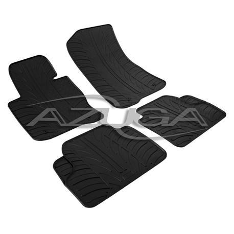 Gummi-Fußmatten für BMW 4er (Gran) Coupé (F32/F36) ab 2014