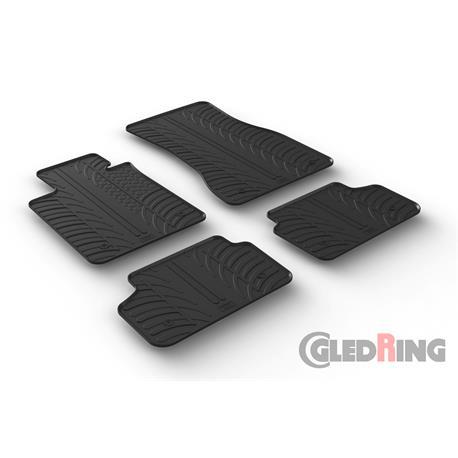 Gummi-Fußmatten für BMW 5er (G30/G31) ab 2017