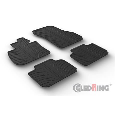 Gummi-Fußmatten für BMW X2 (F39) ab 3/2018