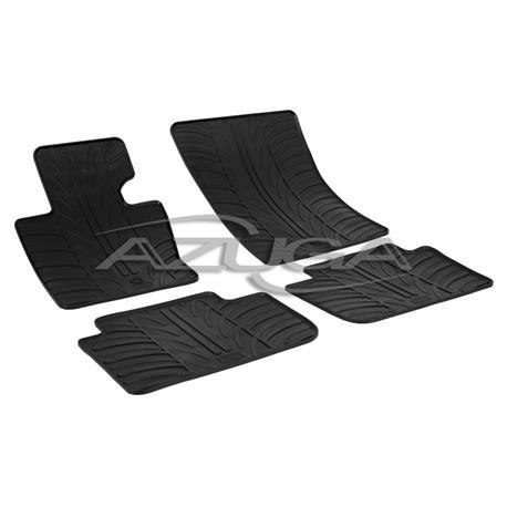 Gummi-Fußmatten für BMW X3 (E83) ab 2003