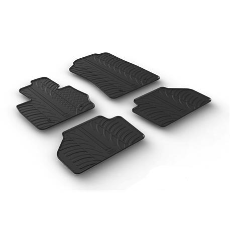 Gummi-Fußmatten für BMW X3 (F25) ab 2010