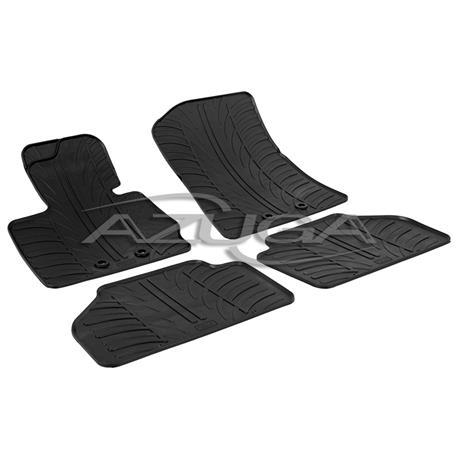 Gummi-Fußmatten für BMW X4 (F26) ab 2014-3/2018