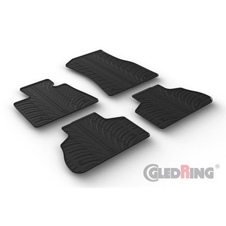 Gummi-Fußmatten für BMW X5 (G05) ab 11/2018