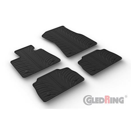 Gummi-Fußmatten für BMW X6 (G06) ab 11/2019