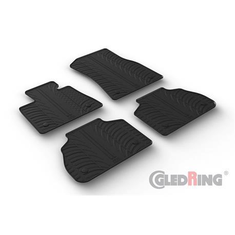 Gummi-Fußmatten für BMW X7 ab 2019
