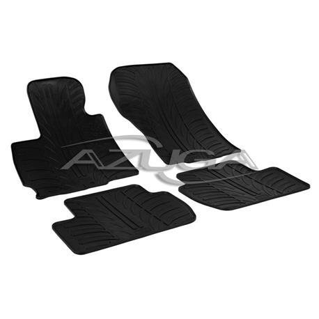 Gummi-Fußmatten für Citroen C-Crosser/Mitsubishi Outlander/Peugeot 4007 ab 2007