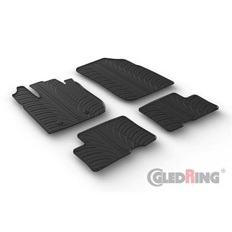 Gummi-Fußmatten für Dacia Duster ab 2018