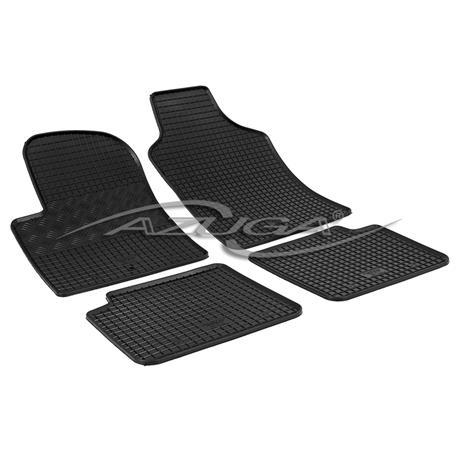 Gummi-Fußmatten für Fiat 500 ab 2007/Ford Ka ab 2009