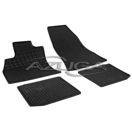 Gummi-Fußmatten für Fiat 500L/Trekking/Living ab 10/2012