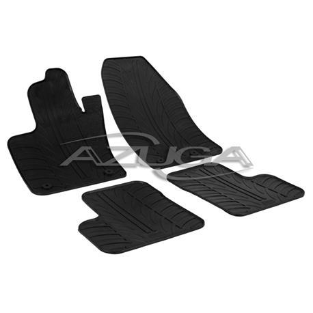 Gummi-Fußmatten für Fiat 500X ab 2015/Jeep Renegade ab 2014