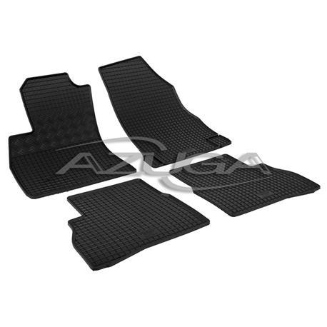 Gummi-Fußmatten für Fiat Doblo II ab 2/2010 / Opel Combo ab 4/2012
