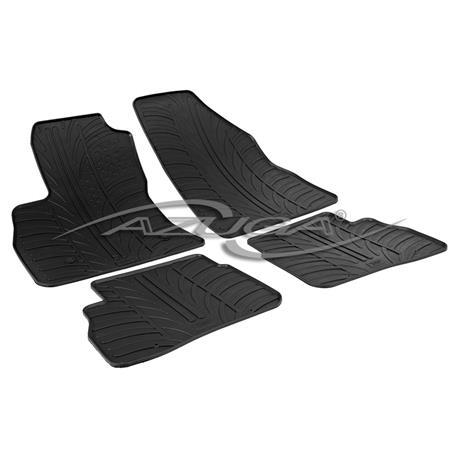Gummi-Fußmatten für Fiat Doblo II ab 2010/Opel Combo ab 4/2012