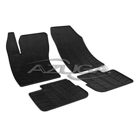 Gummi-Fußmatten für Fiat Tipo Limousine ab 2016
