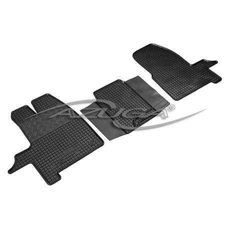 Kastenwagen 2Sitze Gummifußmatten für Ford Transit Courier 2014