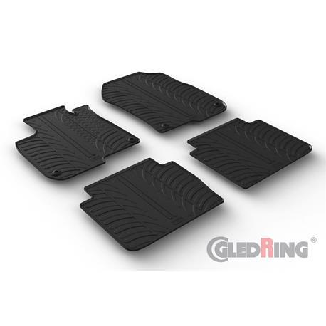 Gummi-Fußmatten für Honda CR-V ab 10/2018