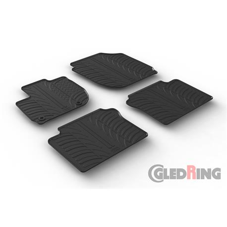 Gummi-Fußmatten für Honda HR-V ab 2015
