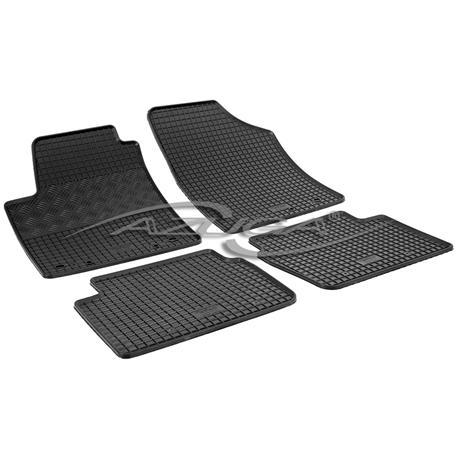Gummi-Fußmatten für Hyundai i10 ab 3/2008-10/2013