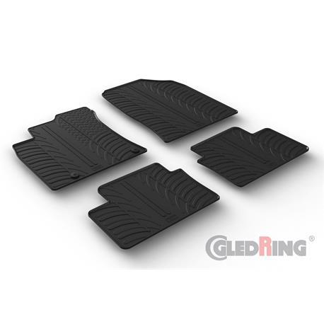Gummi-Fußmatten für Kia Ceed III ab 6/2018