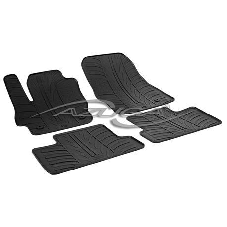 Gummi-Fußmatten für Mazda 3 ab 2009-9/2013
