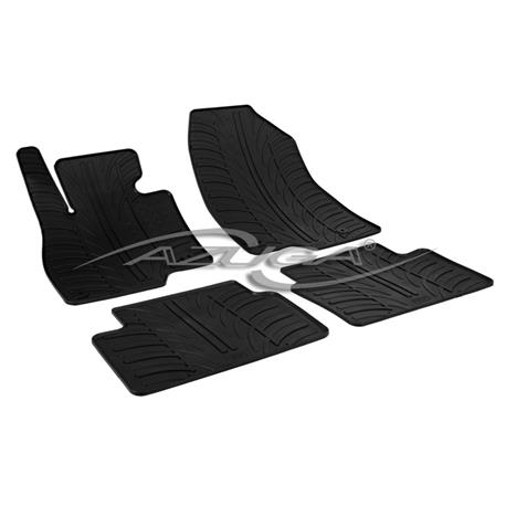 Gummi-Fußmatten für Mazda 3 ab 10/2013