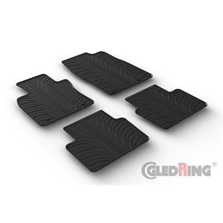 Gummi-Fußmatten für Mazda 3 ab 3/2019 (BP)/Mazda 3 Fastback ab 10/2019