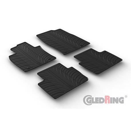 Gummi-Fußmatten für Mazda CX-30 ab 2019