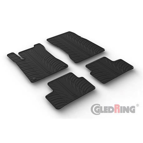 Gummi-Fußmatten für Mercedes CLA Coupé C118 ab 5/2019/CLA Shooting Brake X118 ab 9/2019
